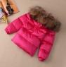 Детский зимний комплект для девочки монклер