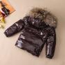 Детский зимний комплект с мехом