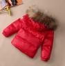 Детский пуховый комплект зимний