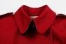 Женская короткая плащ-куртка
